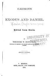 Cædmon's Exodus and Daniel