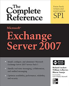 Microsoft Exchange Server 2007  The Complete Reference PDF