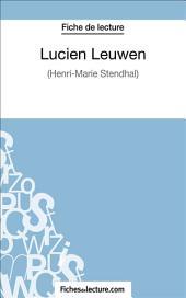 Lucien Leuwen: Analyse complète de l'œuvre