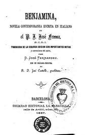 Benjamina: novela contemporanea escrita en italiano
