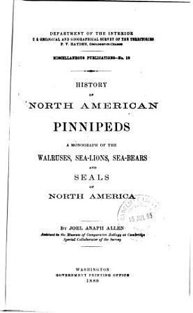 History of North American Pinnipeds PDF