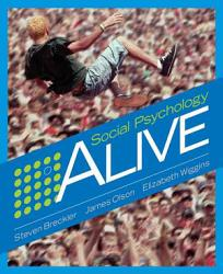 Social Psychology Alive Book PDF