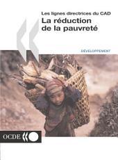 Les lignes directrices du CAD La réduction de la pauvreté