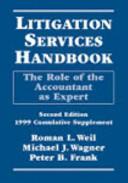 Litigation Services Handbook  1999 Cumulative Supplement PDF