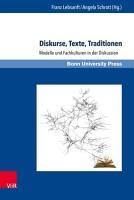 Diskurse  Texte  Traditionen PDF