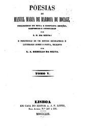 Poesias: Volume 5