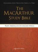 MacArthur Study Bible NASB