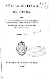Año christiano de España: Volumen 2
