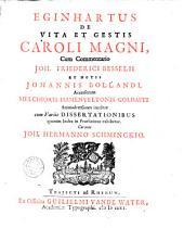 Eginhartus De vita et gestis Caroli Magni