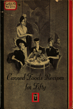 Canned Foods Recipes for Fifty