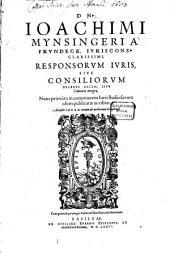 Responsorum Iuris sive Consiliorum Decades sex