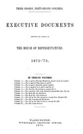 House Documents: Volume 3; Volume 267
