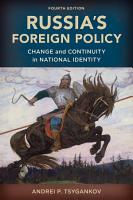 Russia s Foreign Policy PDF