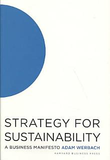 Strategy for Sustainability Book