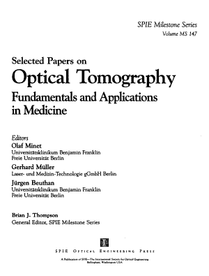 Selected Papers on Optical Tomography PDF