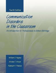 Communication Disorders In The Classroom Book PDF