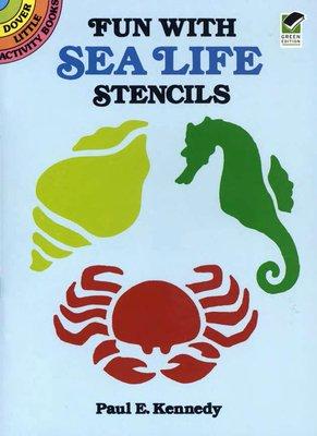 Fun with Sea Life Stencils