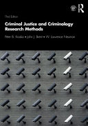 Criminal Justice And Criminology Research Methods Book PDF