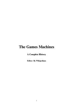 The Games Machines