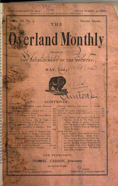Download Overland Monthly and Out West Magazine Book