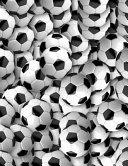 Soccer Ball Notebook - 5x5 Quad Ruled