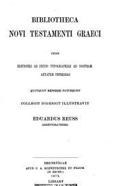 Bibliotheca Novi Testamenti graeci