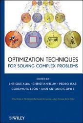 Optimization Techniques for Solving Complex Problems