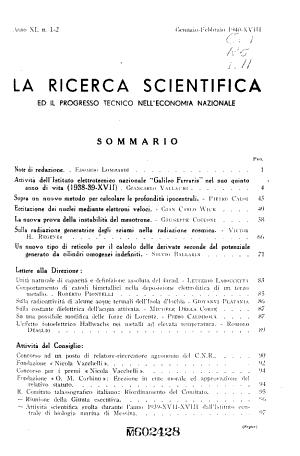 La Ricerca scientifica ed il progresso tecnico nell economia nazionale PDF