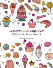Malbuch mit Desserts und Cupcakes für Erwachsene 2