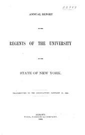 Annual Report of the Regents: Volume 95