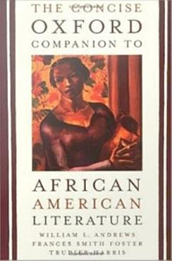 The Concise Oxford Companion to African American Literature PDF