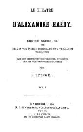 Le théâtre d'Alexandre Hardy