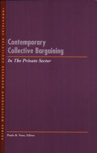 Contemporary Collective Bargaining in the Private Sector PDF