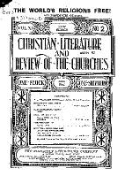 Christian Literature and Review of the Churches
