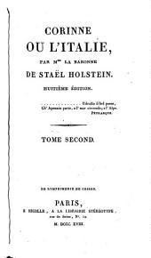 Corinne, ou, L'Italie. 6ième éd., revue: Volume2