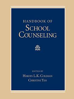 Handbook of School Counseling Book