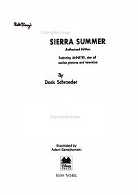 Sierra Summer  part of Disney Annette Vault Box Set