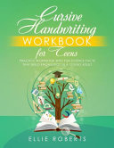 Cursive Handwriting Workbook for Teens PDF
