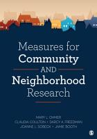 Measures for Community and Neighborhood Research PDF