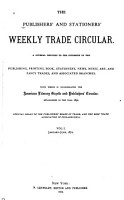The Publishers  and Stationers  Weekly Trade Circular PDF
