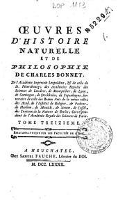 *Collection complete des oeuvres de Charles Bonnet: 13: Essai analytique sur les facultes de l'ame