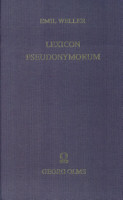 Lexicon pseudonymorum PDF