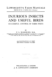 ...Injurious Insects and Useful Birds, Successful Control of Farm Pests