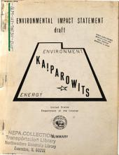 Kaiparowits Power Project: Environmental Impact Statement, Volume 7