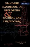 Standard Handbook of Petroleum   Natural Gas Engineering PDF
