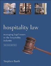 Hospitality Law PDF