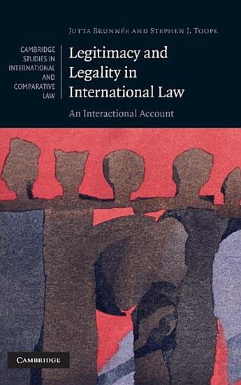 Legitimacy and Legality in International Law PDF