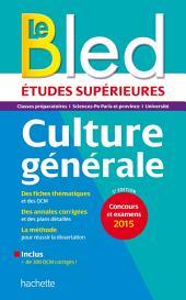 Bled Sup Culture Générale