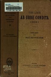 Titi Livii ab urbe condita liber, i, ii, viii, ix, xxi, xxii, xxiii, xxix, xxx, xlii-xlv: Für den schulgebrauch ...