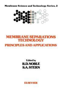 Membrane Separations Technology